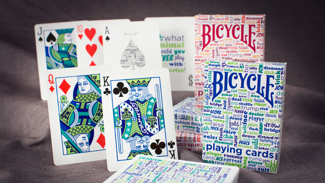 Bicycle Table Talk by USPCC